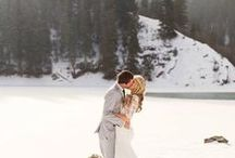Holiday Weddings / A wonderland of winter wedding trends and ideas!