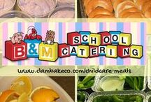 Childcare Menus / We realize the importance of a quality school lunch plan and how difficult it can be to administer, when trying to provide a balanced meal at an affordable price. We understand too, how extremely important school lunches are, because a school meal is often the only hot, nutritious meal some children receive.