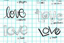Balance · Love / Love makes the world go round...