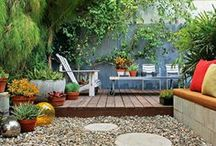 Gorgeous Deck to Garden Transitions