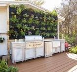 Inspiring Vertical Gardens / Create your own living garden, and add some style and privacy too.