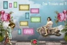 Free Trinkets And Treasures / My Freebies Vintage Images and Clip Art Blog
