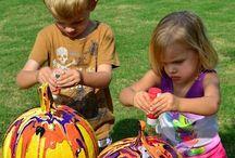 Children 's art / activities / Kis művészek