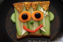 Food art / Fun with food - Harapnivalók gyerekeknek