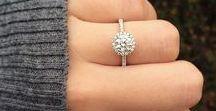 Engagement Rings / Engagement Rings | Halo Engagement Ring | Tiffany's Engagement Ring | Cushion Cut Engagement Ring |