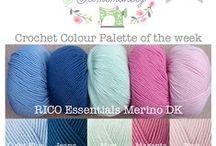 Crochet Colour Palettes