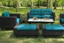 AE Outdoor 2014 Collections / We launched our first patio furniture line in 2014.  We're kind of proud, so we had to brag.  What do you guys think? Get up close and personal with the 2014 Collections on our website.