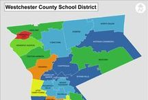 Map of Hudson Valley NY / Maps of towns of the counties, and school district maps for: Westchester, Putnam, Dutchess, Rockland, Orange, and Ulster County in New York.