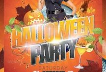 Halloween Flyers & Posters / The Best Editable Flyers & Posters for your Halloween party