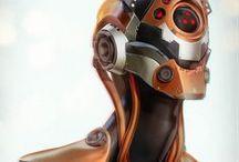 Robots Cyborgs 'n Mech