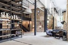 Interieur grote werkruimtes