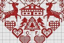SCHEMI PUNTO CROCE/cross-stitch patterns