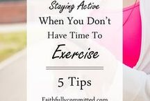 Fitness and Healthy Living / Fitness and health, exercising, eating healthy, weight loss tips, and living a healthy lifestyle.