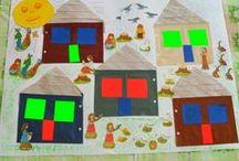 Dedina a mesto / práce s deťmi