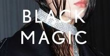 BLACK STYLE / Textures, tones, shapes and colours that inform the STYLEBOP.com style.