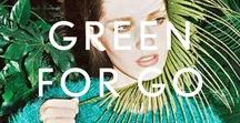 GREEN STYLE / Textures, tones, shapes and colours to inform the Stylebop style.