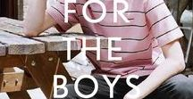 MENSWEAR / Here come the boys! Mature and chic, playful and stylish, our mood board for the STYLEBOP.com man.