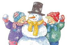 Thema WINTER / Lesideeën rond het thema winter