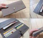 Wallet / Leather handmade wallet by Nastya Klerovski