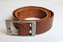 Accessories / Leather handmade accessories by Nastya Klerovski