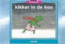 Thema WINTER: KIKKER IN DE KOU / Lesideeën rond het prentenboek KIKKER IN DE KOU