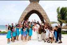 Our Customers / All Inclusive Honeymoon, All Inclusive Wedding and other Honeymoons, Inc. clients enjoying their vacations in the sun.