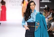 Nikhil Thampi Summer/Resort 2014 / The designer duo's collection at Lakmé Fashion Week