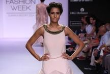 Jade by Monica & Karishma Summer/Resort 2014 / The duo designer's collection at Lakme Fashion Week