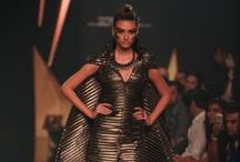 Mawi's Indian Odyssey featuring Gaurav Gupta Summer/Resort 2014 / The duo designers collection at Lakme Fashion Week