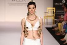 Mrinalini Chandra Summer/Resort 2014 / The designer's collection at Lakme Fashion Week