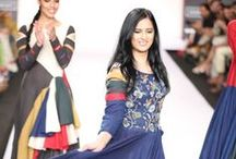 Purvi Doshi Summer/Resort 2014 / The designer's collection at Lakme Fashion Week