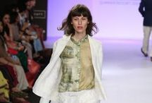 11.11/Eleven Eleven Summer/Resort 2014 / The duo designer's collection at Lakme Fashion Week