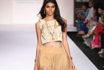 Pretty Stoned Summer/Resort 2014 / The designer's collection at Lakme Fashion Week