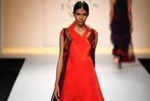 Kiran Uttam Ghosh Fall/Winter 2014-15 / The designer's collection at Wills India Fashion Week