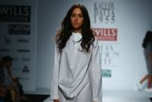 Kallol Dutta 1955 Fall/Winter 2014-15 / The designer's collection at Wills India Fashion Week