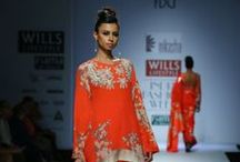 Nikasha Fall/Winter 2014-15 / The designer's collection at Wills India Fashion Week