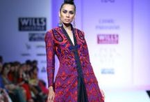 Charu Parashar Fall/Winter 2014-15 / The designer's collection at Wills India Fashion Week