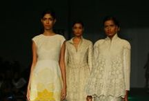 Rahul Mishra Fall/Winter 2014-15 / The designer's collection at Wills India Fashion Week
