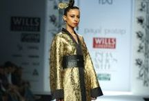 Payal Pratap Fall/Winter 2014-15 / The designer's collection at Wills India Fashion Week