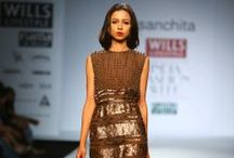 Sanchita Fall/Winter 2014-15 / The designer's collection at Wills India Fashion Week