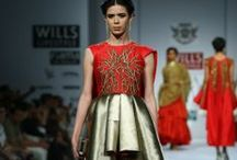 Samant Chauhan Fall/Winter 2014-15 / The designer's collection at Wills India Fashion Week