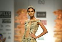 Soltee by Sulakshana Monga Fall/Winter 2014-15 / The designer's collection at Wills India Fashion Week