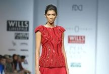 Rinku Sobti Fall/Winter 2014-15 / The designer's collection at Wills India Fashion Week