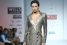 Ankita Fall/Winter 2014-15 / The designer's collection at Wills India Fashion Week