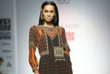 Tanvi Kedia Fall/Winter 2014-15 / The designer's collection at Wills India Fashion Week