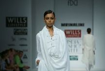 Mrinalini Fall/Winter 2014-15 / The designer's collection at Wills India Fashion Week