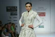 Sahil Kochhar Fall/Winter 2014-15 / The designer's collection at Wills India Fashion Week