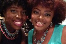 Natural Hair Gurus / These are blogger and bloggers and stylists whom I love dearly   Team Natural  Carmella Marie