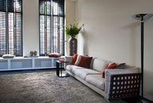 Interieurs / Interiors / Authentieke, internationale sfeer door een mix van stijlen en bijzondere stukken.
