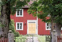 house | / Drömmar om ett vackert gammalt hus på landet. Min inspiration av vackra hus och gårdar / Dreams about a beautiful, genuine old house